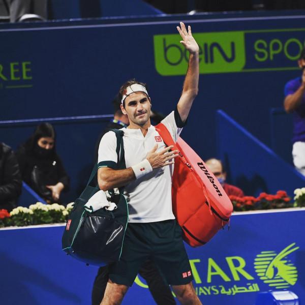 Federer vendos të tërhiqet nga turneu i Dubait