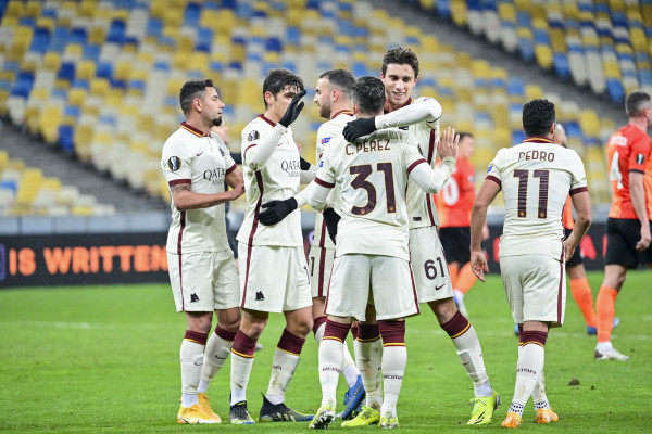 Kumbulla 90 minuta, Roma eliminon Shakhtarin