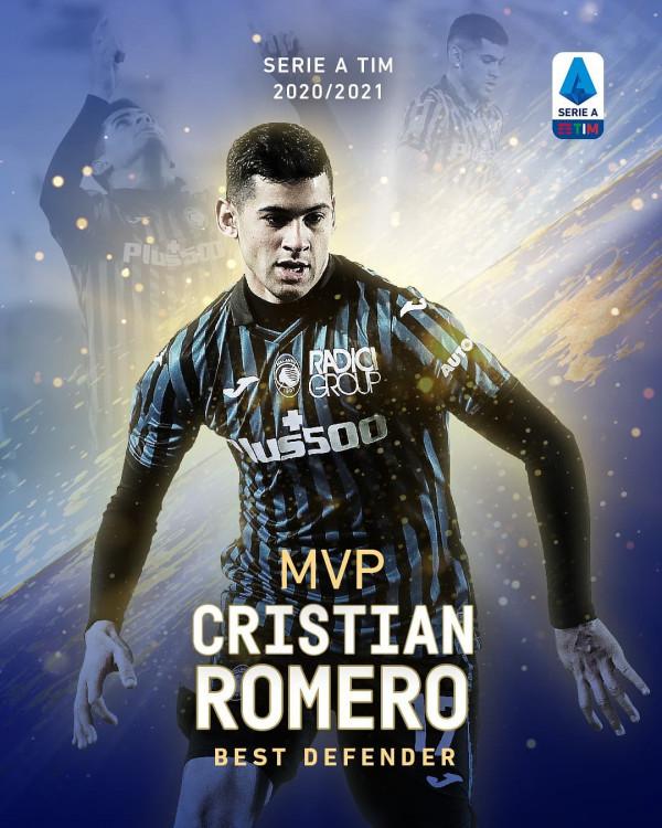 Cristian Romero, mbrojtësi më i mirë në Serie A