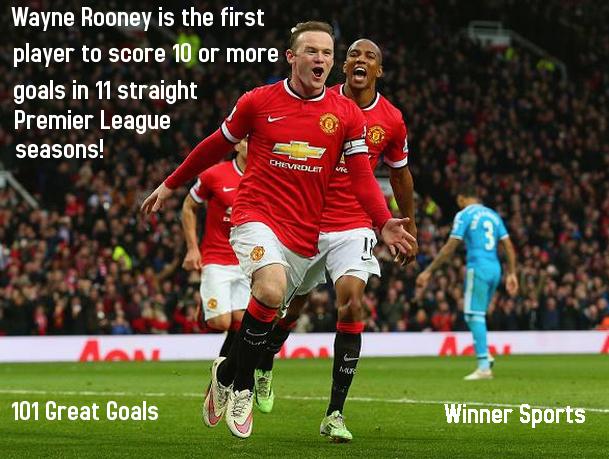 Rekord nga Rooney