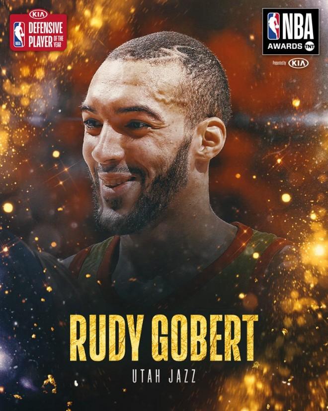 Mbrojtësi më i mirë i vitit: Rudy Gobert