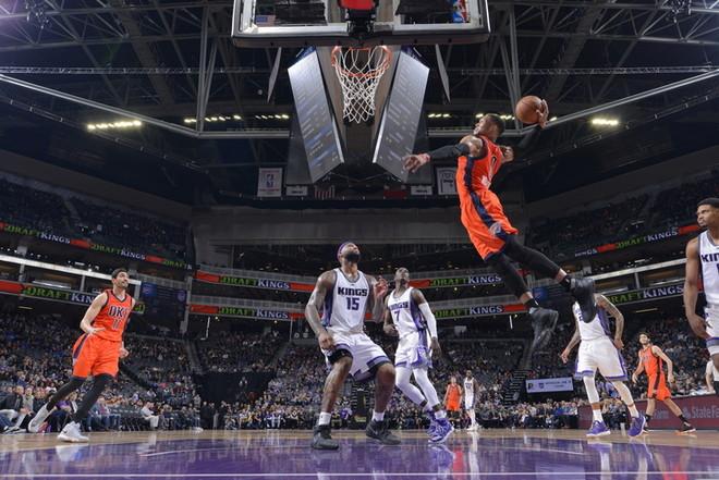 Westbrook nuk ngopet me triple-double