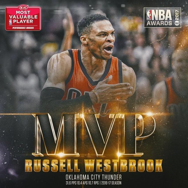 MVP: Russell Westbrook