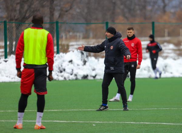 Sami Sermaxhaj në stërvitjen e parë me Drenicën