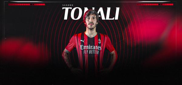 Zyrtare: Tonali totalisht i Milanit