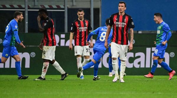 Milani pëson, Interi i afrohet titullit