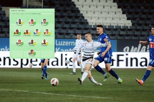 Dy golëshi i bënë vend në formacionin e javës