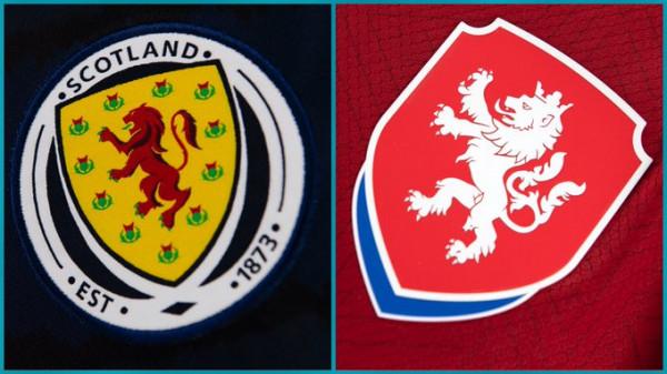 Formacionet zyrtare: Skocia - Republika Çeke