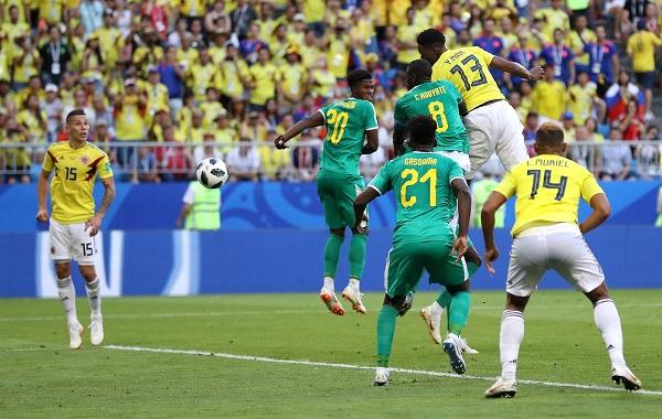Kolumbia si lidere, Senegalin e tradhëtojnë kartonat