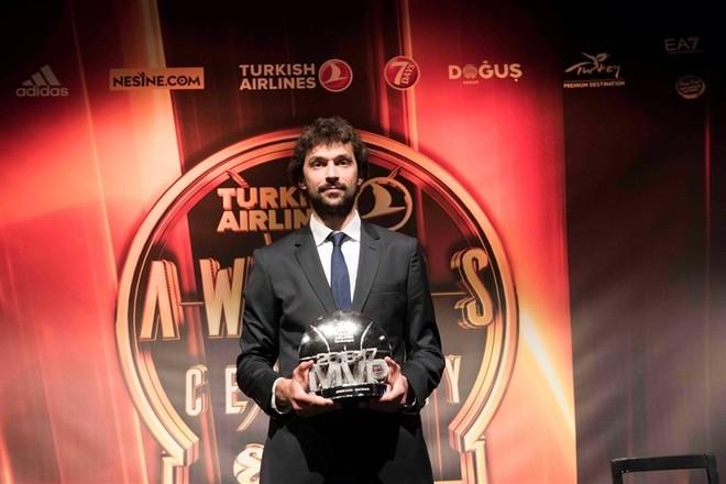 Sergio Llull MVP i stinorit 2016/17 në Euroleague