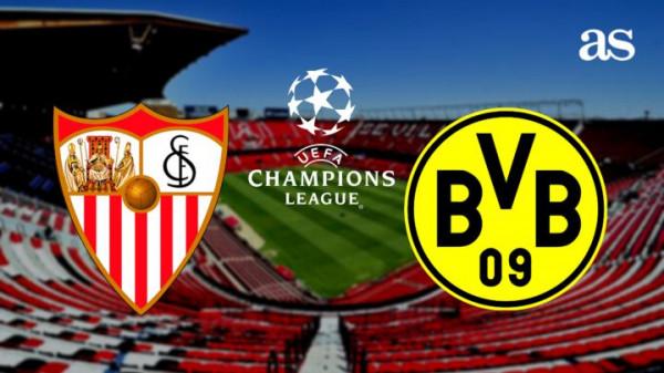Formacionet zyrtare: Sevilla - Dortmund