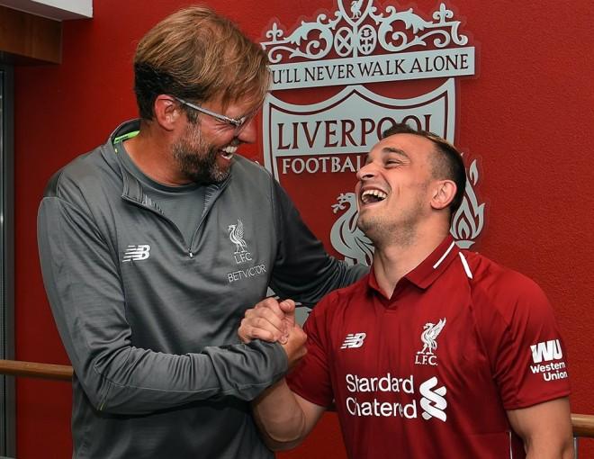 Xherdan Shaqiri te Liverpooli
