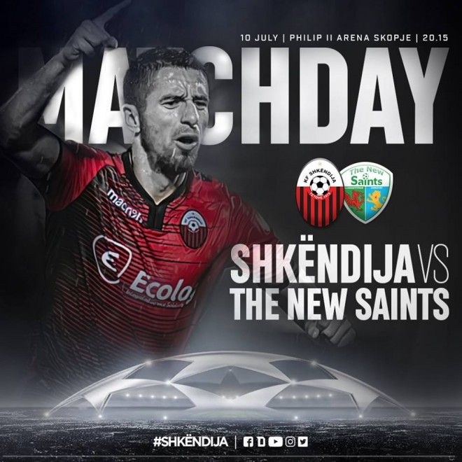 Formacionet: Shkëndija - The New Saints