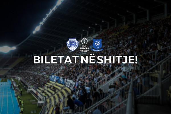 Biletat e ndeshjes Shkupi-Llapi nga nesër në shitje