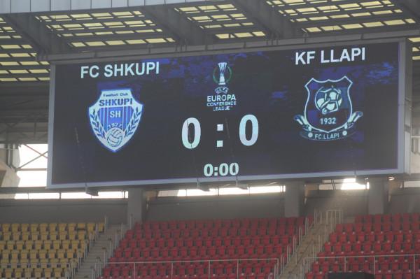 Formacionet zyrtare: Llapi - Shkupi