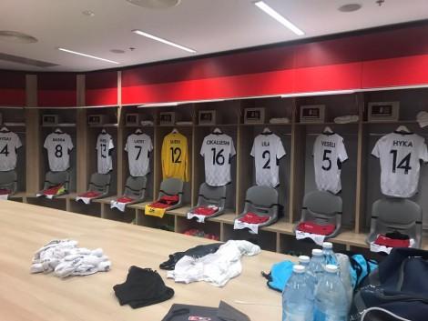 Andorra vs. Shqipëria, 11-shet startuese