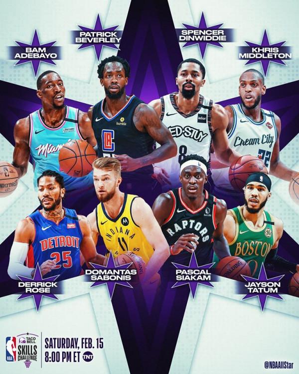 8 All Star 2020 finalistët në garë për shkathtësitë