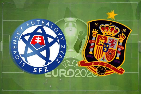 Formacionet zyrtare: Sllovakia - Spanja