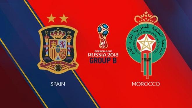 Formacionet: Spanja - Maroko