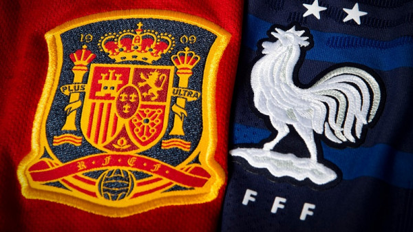 Finalja e Ligës së Kombeve, 11-shet startuese Spanja-Franca
