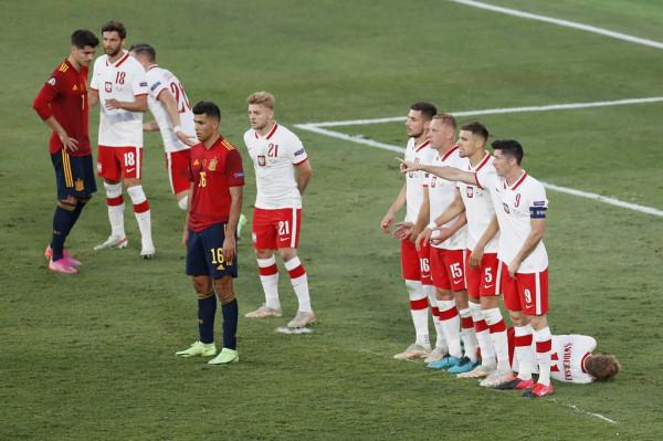 Notat e futbollistëve: Spanja-Polonia