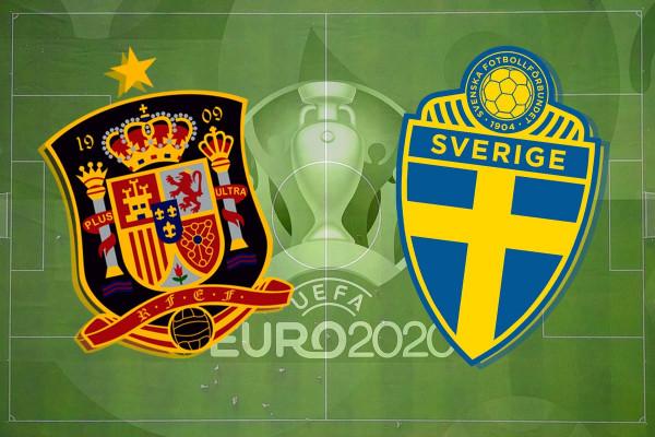 Formacionet zyrtare: Spanja - Suedia