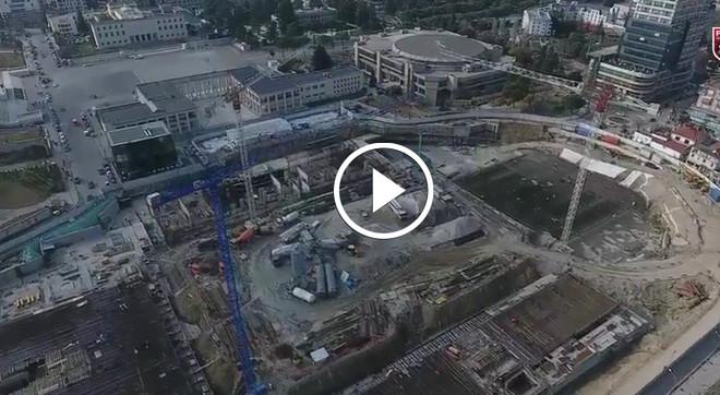 Pamjet më të reja nga punimet në stadiumin kombëtar në Tiranë