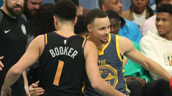 Curry e Booker, kthehen për ta fituar garën për 3 pikë
