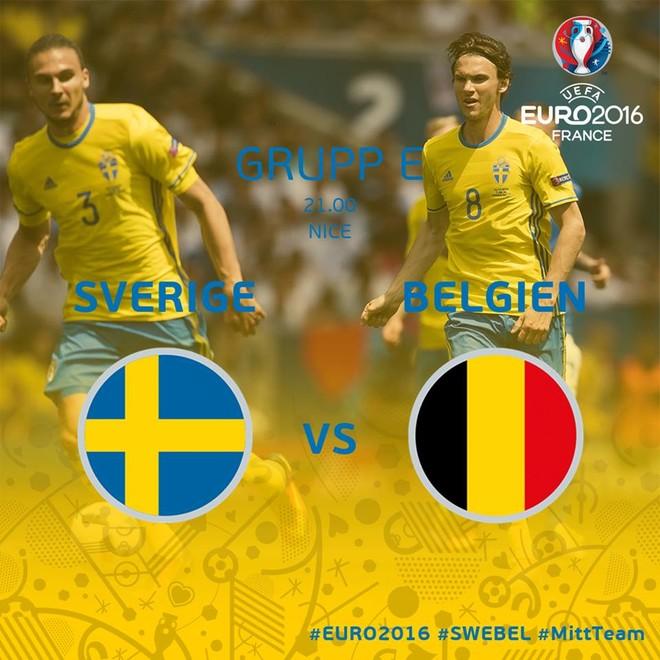 Formacionet zyrtare: Suedia - Belgjika