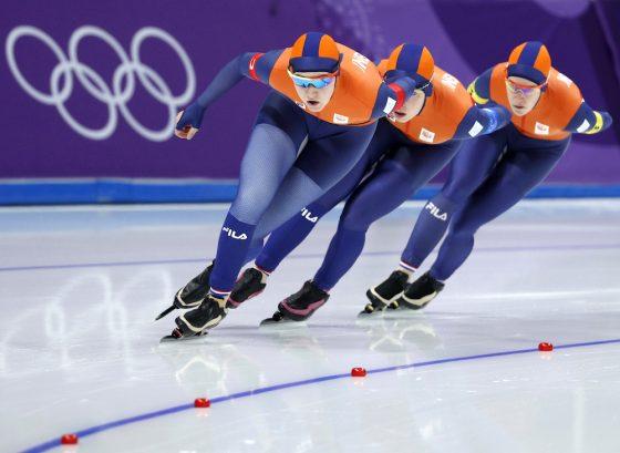 Holandezët pa të artë në stafeta