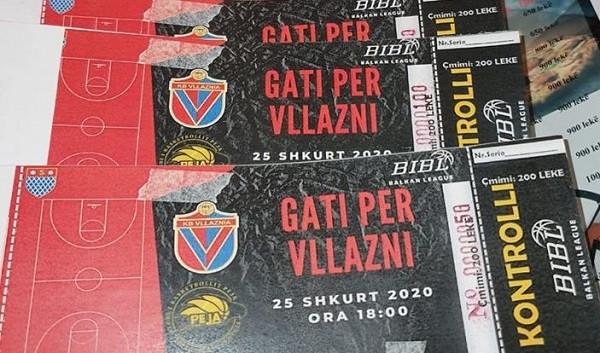 Dalin në shitje biletat për ndeshjen Vllaznia-Peja
