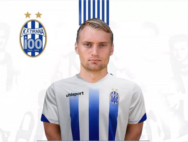 Tirana transferon sulmuesin e reprezentacionit të Finlandës