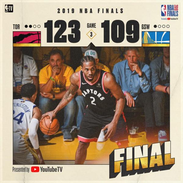 Curry s'mjaftoi, Toronto në epërsi