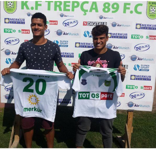 Dy brazilianë te Trepça '89