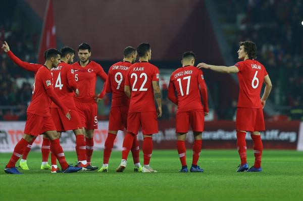 Turqia publikon listën për ndeshjen ndaj Shqipërisë