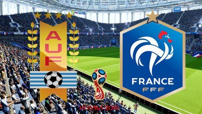Formacionet: Uruguaji - Franca
