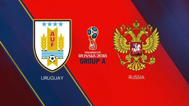Formacionet: Uruguaji - Rusia