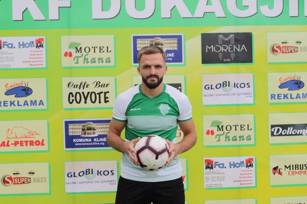 Dukagjini forcon mbrojtjen me Valmir Kutllovcin