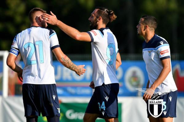 10 gola nga Lazio në miqësore, shënon edhe Muriqi