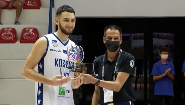 Visar Ejupi shpallet MVP në Kampionatin Evropian