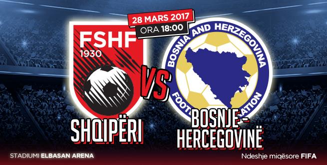 Nis shitja e biletave për Shqipëri-Bosnje