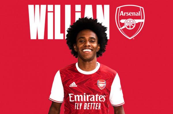 Arsenal konfirmon Willianin