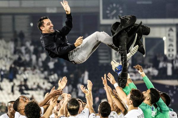 Xavi fiton trofeun e pestë si trajner