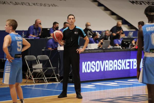 FIBA licencon 1 Komisioner dhe 4 Gjyqtarë nga FBK për periudhën 2021-2023