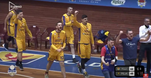 Highlights nga ndeshja Golden Eagle Ylli - Peja