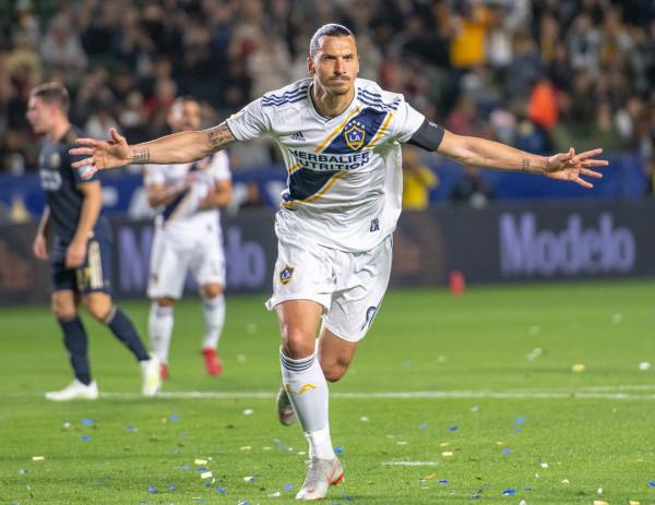 Ibrahimovic me rekord të ri te LA Galaxy