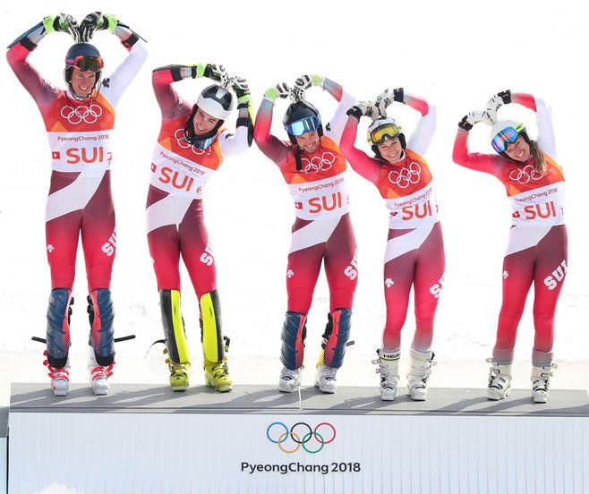 Zvicra mposht Austrinë në skijim alpin