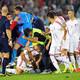 Azemi përlotet gjatë ndeshjes në Beograd
