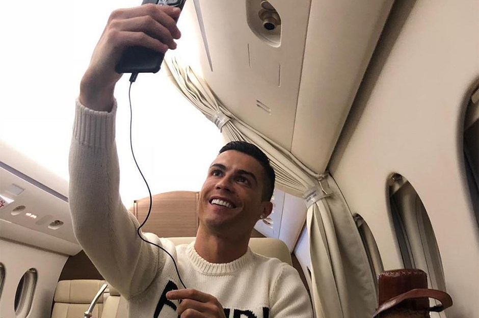 Cristiano Ronaldo's plane