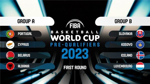 FIBA draw